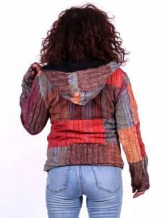 Chaquetas y Abrigos - Chaqueta realizada en patchwork CHEV27.