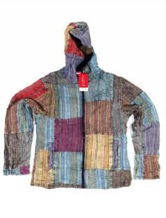 Chaquetas y Abrigos - Chaqueta realizada en patchwork CHEV27 - Modelo M201