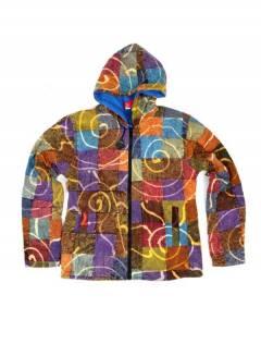 Veste patchwork et pierre batik CHEV29 pour acheter en gros ou détail dans la catégorie Alternative Hippie Accessories.