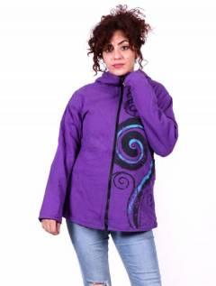 Chaqueta hippie con capucha pico CHEV35 para comprar al por mayor o detalle  en la categoría de Ropa Hippie de Mujer | ZAS Tienda Alternativa.