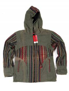 Giacca con cappuccio etnico CHEV37 da acquistare all'ingrosso o dettaglio nella categoria Accessori Hippies alternativi.