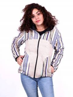 Jackets and Coats - Ethnic jacket with hood [CHEV37] to buy wholesale or detail in the category of Hippie Clothing for Women.