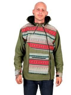 Sudaderas - Abrigos - Chaqueta Hippie Tipo Canguro [CHEV73] para comprar al por mayor o detalle  en la categoría de Ropa Hippie Alternativa para Hombre.