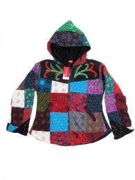 Sudaderas chicas - Chaqueta hippie patchwork. CHHC28.