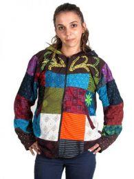 Hippie Patchwork Jacke., Um Großhandel oder Detail in der Kategorie der Damen Hippie Kleidung | zu kaufen ZAS Alternative Store. [CHHC28]