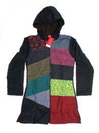 Chaquetas/ Abrigos - Abrigo de parches diseño CHHC34 - Modelo Negro