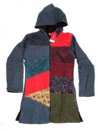 Chaquetas/ Abrigos - Abrigo de parches diseño CHHC34 - Modelo Gris