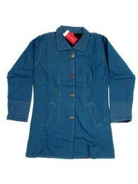 Abrigo de algodón con Mod Azul