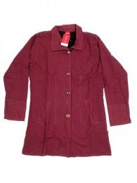 Chaquetas/ Abrigos - Abrigo de algodón con CHHC35 - Modelo Granate