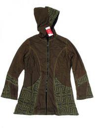 Abrigo algodón loneta Mod Verde