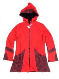 Abrigo algodón loneta Mod Rojo