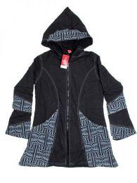 Abrigo algodón loneta Mod Negro