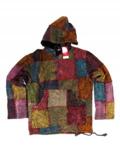 Winter Hippie Patchwork Sweatshirt. CHHC48 to buy wholesale or detail in the Alternative Hippie Accessories category.