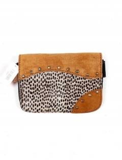 CIGO01 wild print leather bum bag to buy in bulk or in detail in the Alternative Hippies Accessories category.