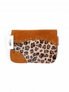 Leather fanny pack with wild print, to buy wholesale or detail in the Bohemian Hippie Fashion Accessories category | ZAS. [CIGO01]