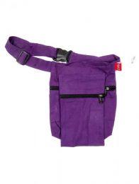 Riñoneras / Cartucheras - Bolso para el cinto y/o hombro, CIHC01 - Modelo Morado