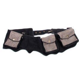 Cinturón multibolsillos Mod Negro
