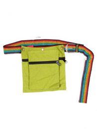 cartuchera hippie cinto multicolor Mod Verde