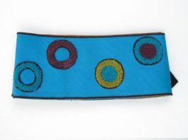 Cinturón algodón Mod Azul