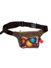 Retro compact 70up waist bag, to buy wholesale or detail in the category of Hippie Women's Clothing | ZAS Alternative Store. [CIUP01]