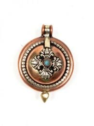 Tibetan secret box pendant CJAN01 to buy wholesale or detail in the category of Alternative Hippie Clothing for Women.