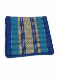 Almohadas y Colchones Kapok Tailandia - Cojín con relleno de CJMO01 - Modelo Azul