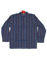 Camisa de algodón de Mod Azul