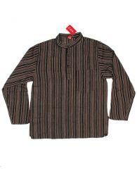 Camisa de algodón de Mod Marrón