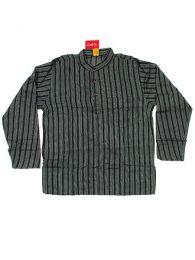 Camisa de algodón de Mod Negro