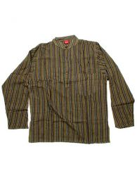 Camisa de algodón de Mod Verde