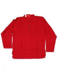Camisa de algodón en Mod Rojo