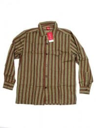 Camisa hippie de rayas manga larga CLEV07 para comprar al por mayor o detalle  en la categoría de Complementos Hippies Alternativos.