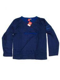Camiseta de manga larga de Mod Azul