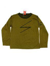 Camiseta de manga larga de Mod Verde