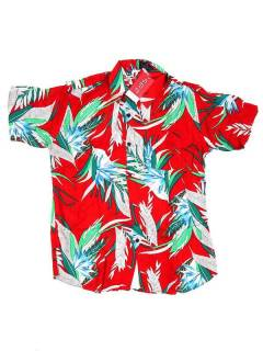 Camisas Hippies M Corta - Camisa de hombre de manga CMEK05 - Modelo M3