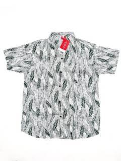 Camisas de Manga Corta - Camisa de hombre de manga CMEK09 - Modelo Verde