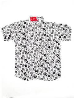 Camisas de Manga Corta - Camisa de hombre de manga CMEK11 - Modelo Blanco