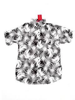 Camisas de Manga Corta - Camisa de hombre de manga CMEK13 - Modelo Negro