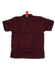 Camisa 100% algodón Mod Marron