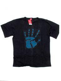 Camisa de algodón manga Mod Hand