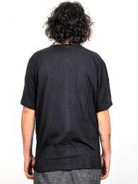 Camisa de algodón manga detalle del producto