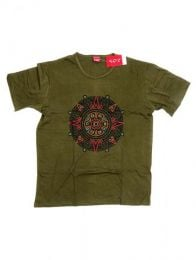 Camiseta de manga corta de Mod Verde