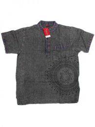 Camisa 100% algodón Mod Gris