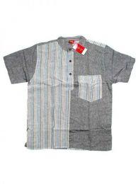 Camisa hippie de manga corta CMEV08 para comprar al por mayor o detalle  en la categoría de Piercing Dilatadores Cuerno y Hueso.