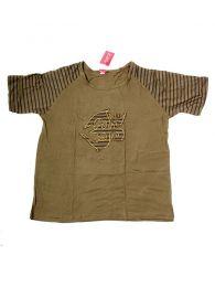 Camiseta Om rayas CMEV11 para comprar al por mayor o detalle  en la categoría de Complementos Hippies Alternativos.