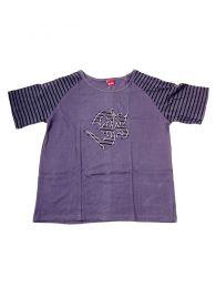 Camiseta Om rayas CMEV11 para comprar al por mayor o detalle  en la categoría de Bisutería Hippie Étnica Alternativa.