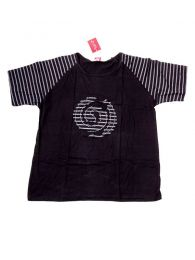 Striped Spiral T-shirt CMEV12 to buy wholesale or detail in the Alternative Ethnic Hippie Outlet category.