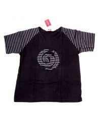 Camiseta Espiral Rayas CMEV12 para comprar al por mayor o detalle  en la categoría de Complementos Hippies Alternativos.
