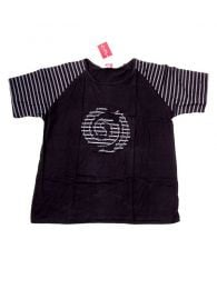Camisetas T-Shirts - Camiseta de manga corta con CMEV12 - Modelo Negro