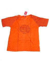 Camisetas T-Shirts - Camiseta de manga corta con CMEV12 - Modelo Naranja